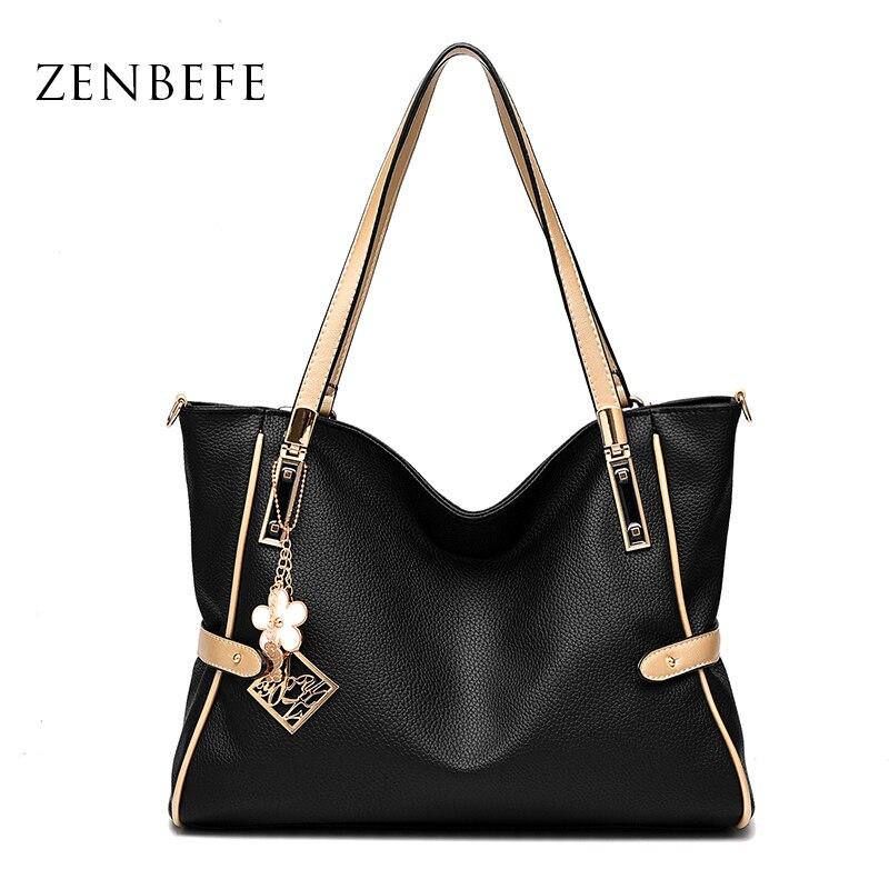 ZENBEFE Capacity Womens Handbags Fashion Women Daily Casual Totes Large Shoulder Bags Elegant Ladies Female Big Bags Clutchs<br><br>Aliexpress