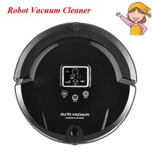 1pc Robot Vacuum Cleaner with LCD Touch Screen Home Ultra Fine Air Filter Dust Cleaner A320(China)