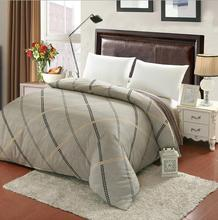 Simple grid Cotton Twin full queen king size duvet cover quilts cover Quilt cover Home Textiles/ 220x240cm 160x210cm 200x230cm(China)