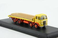 1:87 Truck flatbed trailer Timber transport vehicle Alloy truck model(China)