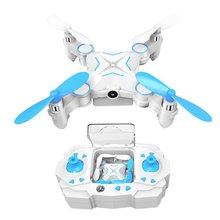 Mini Drone Rc Quadcopter With Cameras FPV WiFi Iphone Control and Remote Control Support One Key to Return Collapsible Drone(China)