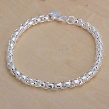 Free shipping 925 jewelry silver plated jewelry bracelet fine fashion bracelet wholesale and retail SMTH157