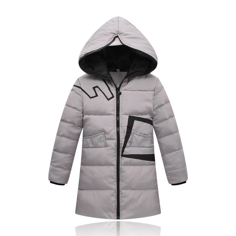 2017 Girls Winter White Duck Down Coat Kids Jacket Hooded Long Sections Children Clothes Boys Warm Parka Outerwear Snowsuit New Îäåæäà è àêñåññóàðû<br><br>