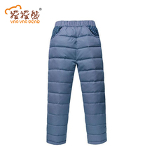 Children's Clothing Kids Pants Warm Winter Pant Baby Boys And Girls Casual Sport Pant Cotton Warm Leggings Trousers for Boys(China)