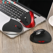 Reliable 2400DPI gaming mouse wireless mouse  6D Wireless Ergonomic Design Vertical 2400DPI USB Mice Mouse For Laptop PC