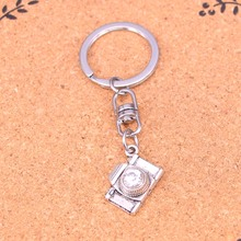 New charming novelty Silver Color Metal Vintage camera Key Chains Accessory & Chrome plated Key Rings