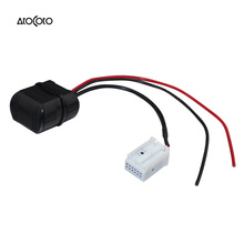 Car Bluetooth Module for Peugeot 107 307 407 607 807 4007 Radio Stereo Aux Cable Adapter Wireless Audio Input(China)