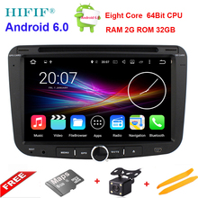 HIFIF 2G RAM+32G ROM Android 6.0 Octa Core Car DVD Multimedia Player For Geely Emgrand EC7 GPS RDS BT Maps Stereo Head Unit(China)
