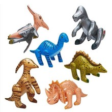 6 PCS/Set Inflatable Dinosaur Inflated Dinosaur Model Children Girl Boys Birthday Party Favor Theme Parties TD0063