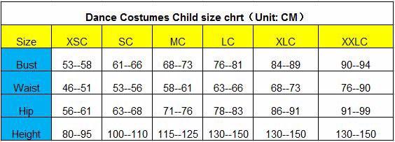 Child size chart