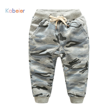 2-10Y Boys Camouflage Pants Children Outdoor Camo Pants Kids Army Design Colorful Trousers for Spring & Autumn Girls Clothes(China)