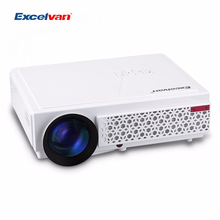 Excelvan LED 96+ LCD LED Projectors Native 1280*800 Support Full HD 1080P Led Projector Support Red and BLue 3D Proyector(China)