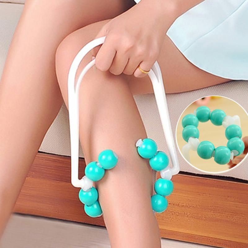 Body Leg Slimming Ball Roller Massager Beads Calf Diet Loss Relax Relaxation Useful Hot sale Free shipping<br><br>Aliexpress