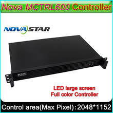 NovaStar MCTRL600 Controller, LED display full color Sending Card, LED Full color video wall Sending Box, MSD300