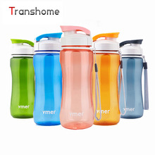 Transhome Healthy Bicycle Water Bottle Simple Space Sport Drinkware Travel Hiking Running Bottles 560ML