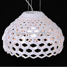 Black/White/Transparent Free Shipping Modern Beehive Nest Pendant Light Pendant Lamp PLL-14