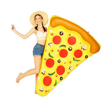 Inflatable Float 1.8M Gigantic Pizza Slice Pool For Adult Fun Float Toys pool Swimming Ring Water Game Toys Party Decorations