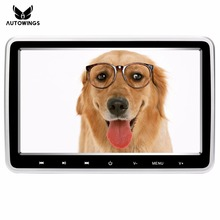 10 Inch 1024*600 Car Monitor Headrest DVD Video Player TFT LCD Car Portable Television Monitor Built-in Speaker FM/USB/SD/HDMI