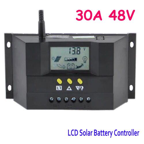 1PC 30A OR 50A OR 60A 48V Solar battery charge controller PWM LCD CM3048Z/CM5048Z/CM6048Z<br>