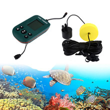 Hot ! 2017 New 100M Portable Fishing Fish Finder Sonar Sensor Depth Sounder Alarm Transducer Outdoor Fishing High Quality Apr 3(China)
