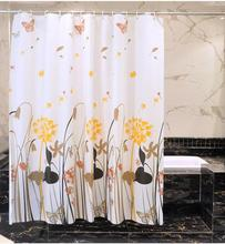 Toilet bathroom shower Curtains hang bath in the bathroom waterproof mouldproof partition door curtain(China)