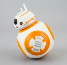 NEW hot 12cm Star Wars The Force Awakens BB8 BB-8 Droid Robot tumbler action figure toys Christmas gift(China)