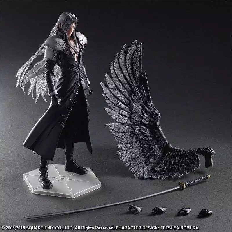 Play arts Kai Final Fantasy 7 Adventizer Saffei Ross Action Figure(China)