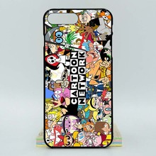 For Apple iPhone 8 Plus Cartoon Network Mix 2D Paiting Back Silicon Cover For iPhone 8 Plus Soft TPU Covers(China)