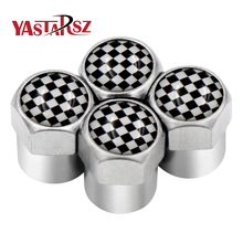 4pcs/set fit for audi sline seat fr vw gti toyota trd nismo skoda vrs Spain Japan tire valve Motorcycle Automobiles car styling(China)