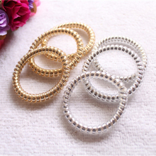 5pcs/Lot Women Girl Handband Telephone Wire Hair Bands Ropes Ponytail Holders Hair Accessories for women Headband hair