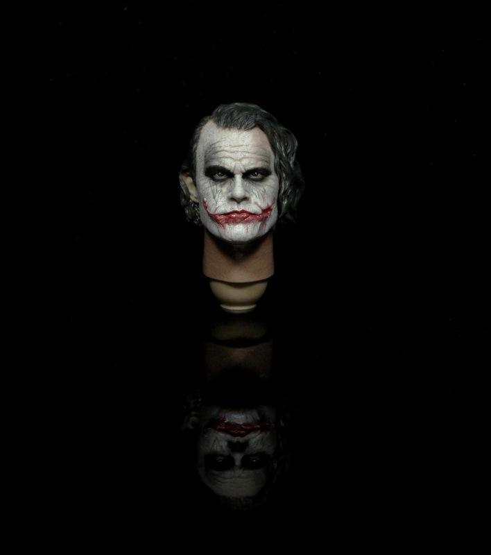 1/6 Scale Batman Joker Clown 2.0 Head Sculpt Male Star Heath Ledger Head Carving Model<br><br>Aliexpress