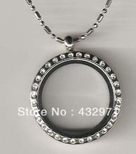 "wholesale 25mm,30mm alloy round crystal stone locket with 18-22"" chain, chain easily removable and replaceable"