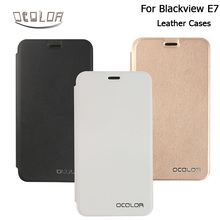 Blackview E7 Leather Case Cover Flip With Silicon Case Skin Cover for Blackview E7 Phone In 3 Colours Mobile Accessories