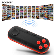 DOITOP Wireless Bluetooth Gamepad Mini Mouse Joystick Mobile Phone Games Controller VR 3D Gamepads & Selfie Remote Control B4(China)