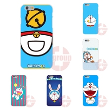 Fashion Doraemon Happy Cat s Soft TPU Silicon Friendship Cell Phone Case For Apple iPhone 4 4S 5 5C SE 6 6S 7 7S Plus 4.7 5.5