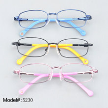 5230    low price  full rim kid eyeglasses   with spring hinge  prescription spectacles RX optical frames