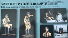 1/35 Scale Soviet Army Tank Crew In Afghanistan  3 People Resin Model Kit Figure Free Shipping