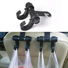 1Pc Car Hook Hanger Car Seat Back Hook Organizer Coat Clothes Hanging Clip Holder Car Rear Seat Hooks Styling Auto Accessories