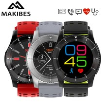 Makibes W02 Smart Watch Bluetooth 4.0 SIM Card Call SMS Reminder GS8 Heart Rate Blood Pressure monitor Pedometer G8 Smartwatch