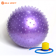 Yoga Balls Fitness Appliance Balance Point Massage Stepping Stones Balance Bodybuilding Gym Exercise With Pump Sports Balls