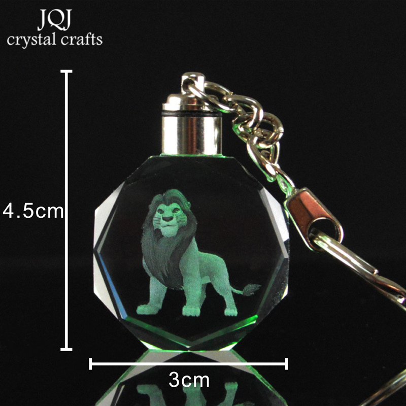 1-Piece-Laser-Engraved-Cartoon-The-Lion-King-Crystal-Miniature-Keychain-With-Changing-Colors-Light-For (4)