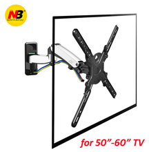 NB F500 Gas Spring for 50-60 inch LED TV Wall Mount Monitor Holder Ergonomical gas spring lifting(China)