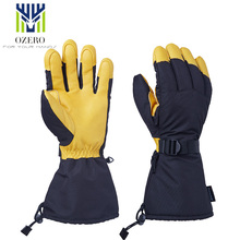 New Men's Sports Ski Skiing Gloves Snowboard Snowmobile Motorcycle Riding Winter Windproof Waterproof For Woman Unisex Snow(China)