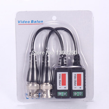 10pcs (5Pairs) UTP Video Balun Twisted CCTV Balun Passive Transceivers BNC Cable Cat5 CCTV Adapter(China)