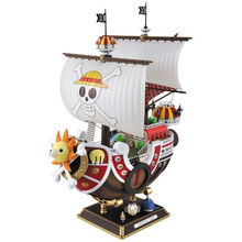 Anime One Piece Thousand Sunny Pirate ship Figure 35cm Thousand Sunny Boat ship PVC Action Figures Toys Collectible Model Toy(China)