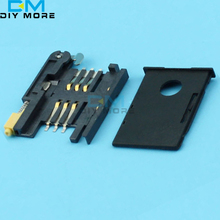 Drawer SIM Card Socket For Series GSM / GPRS Transmission SIM900 SIM908 Module(China)