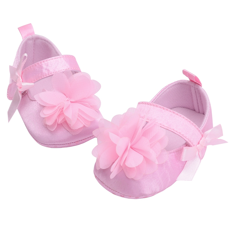 Flower Spring / Autumn Infant Baby Shoes Moccasins Newborn Girls Booties for Newborn 3 Color Available 0-18 Months 11