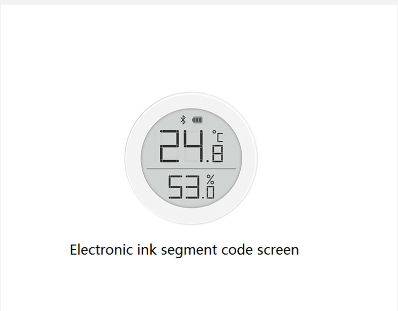 Bulk Xiaomi ClearGrass Digital Bluetooth Thermometer Hygrometer 0~50 Electronic Ink Screen Data Automatic Recording with mi APP (20)
