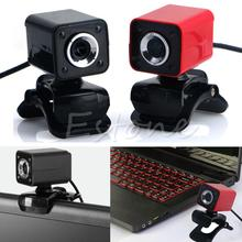 8.0MP USB 2.0 4 LED HD Webcam Web Cam Camera with MIC For Laptop Desktop Computer Brand New TOP Quality webcams