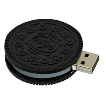 Pendrive128GB USB Flash Drive Memory Stick/thumb 4g 8g 16g 32g 64g oreo cookie key external storage 2.0 pen drive 32 gb U Disk